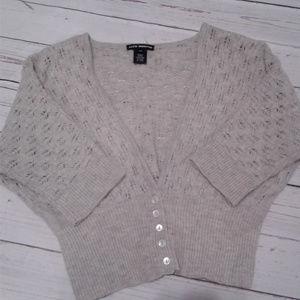 Club Monaco Cropped Cardigan Sweater